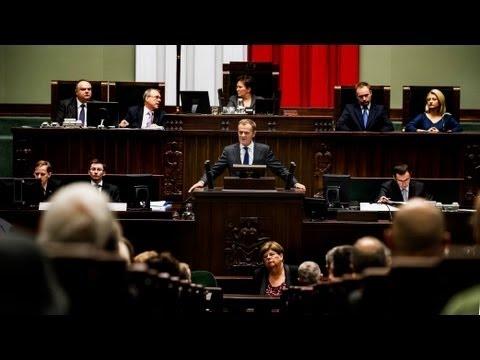 """Drugie expose"" premiera Tuska (cz. 1/4)"