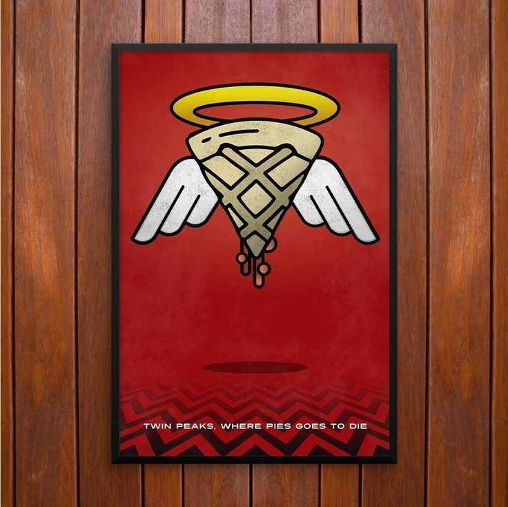 "Twin Peaks Poster or Framed Print with Where Cherry Pies Go to Die. Twin Peaks Poster or Framed Print with ""Where Cherry Pies Go to Die"" quote inspired by Agent Dale Cooper's. Twin Peaks is the one of the most fan followed TV Series of the 90s directed by David Lynch."
