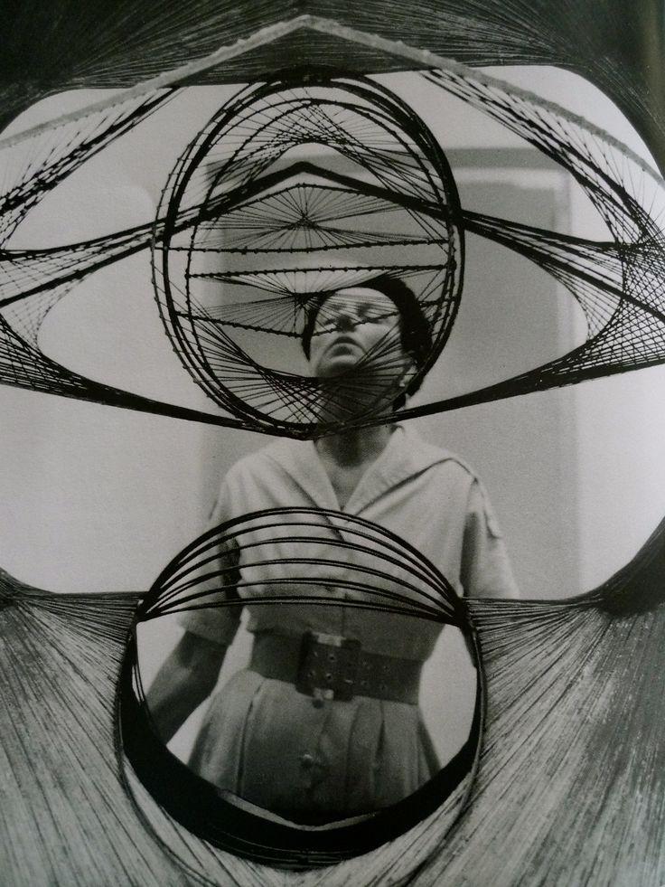 Peggy Guggenheim seen through Pevsner's Developable Surface.