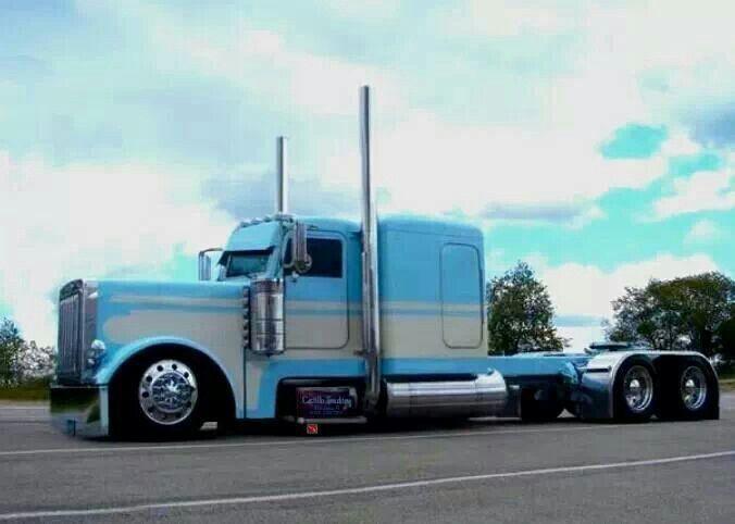 Image Result For Custom Peterbilt 379 Drawings Peterbilt Trucks