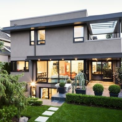 Modern daylight basement house plans