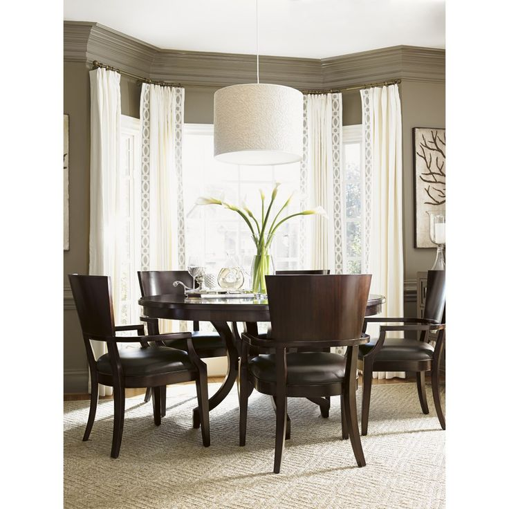 Lexington Furniture 708 875C Kensington Place Beverly Glen Round Dining Table