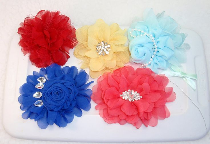 DIY Fabric Flower, Tutorial, DIY, How to make