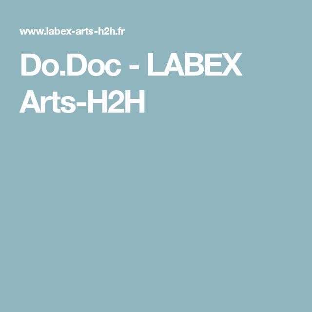 Do.Doc - LABEX Arts-H2H