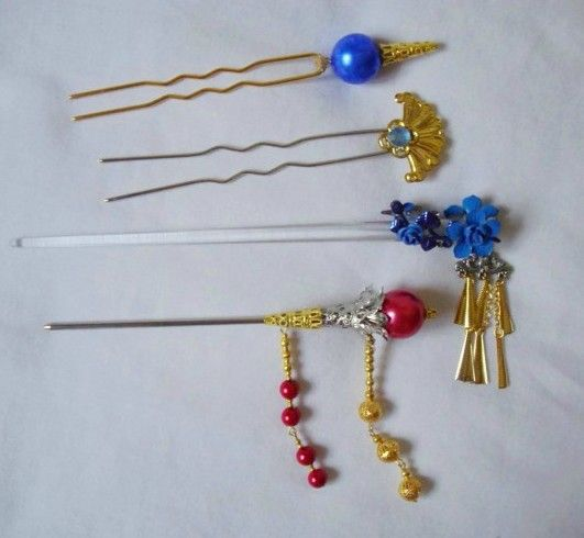 Final Fantasy 10 Lulu Cosplay Headdress Hairpins Set cosplay accessories