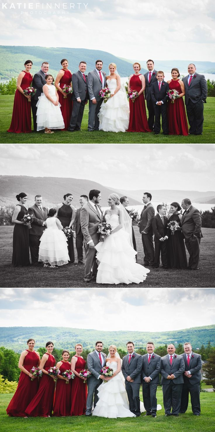 Bridal Party photos at this spring Bristol Harbour Resort wedding in Canandaigua, NY. Photos by Katie Finnerty Photography | http://www.katiefinnertyphotography.com/blog/2016.6.15.bristol-harbour-resort-wedding-emily-stephen
