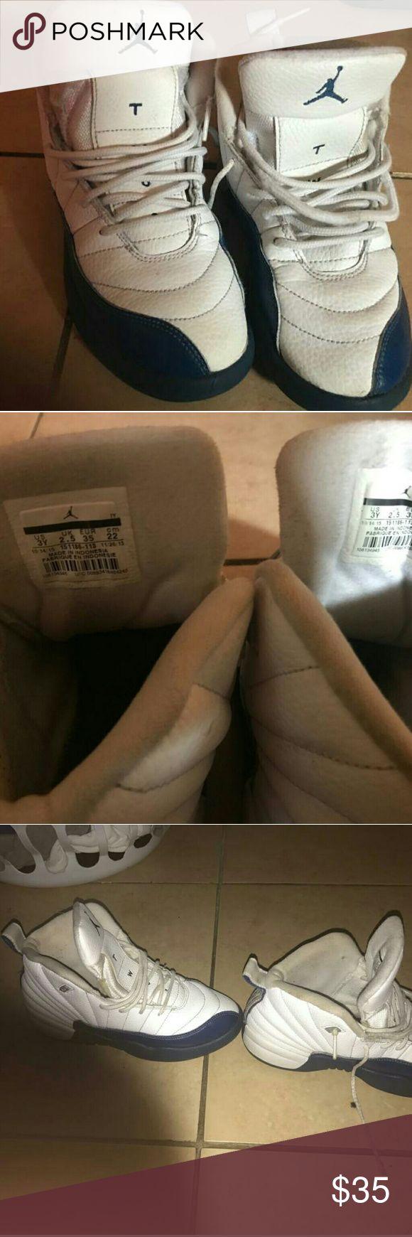 Kids Jordan Jordan retro 12 shoe ok condition bundles are welcome. Feel free to make a offer Jordan Shoes Sneakers