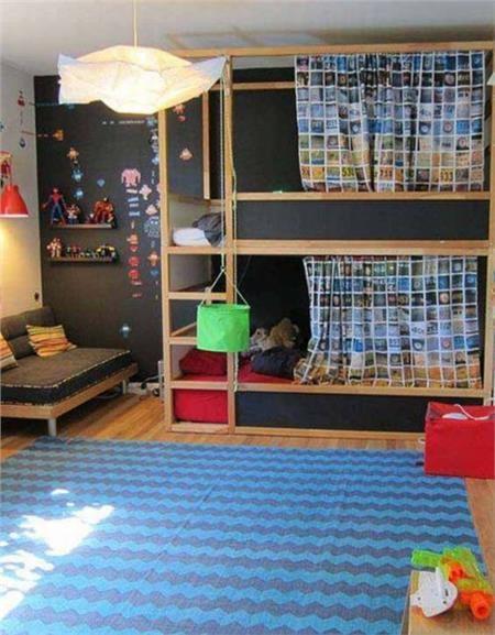 Deco: Παιδικά δωμάτια με μαυροπίνακα - Imommy