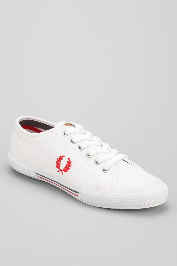 Fred Perry Classic Canvas Tennis Shoe #urbanoutfitters