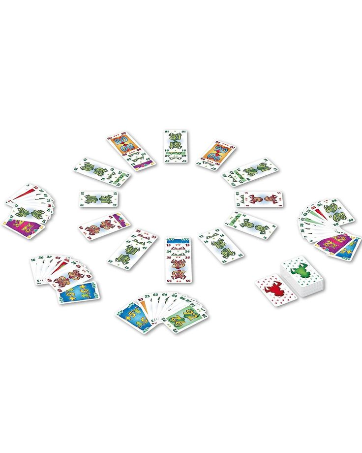 Amigo Hornochsen. Ziel des Spiels ist es, Kartenreihen mit grünen Hornochsen zu sammeln. für 2 bis 6 Spieler ab 10 Jahren.zum Angebot weiterlesen    Hornochsen für 7,91 EUR→