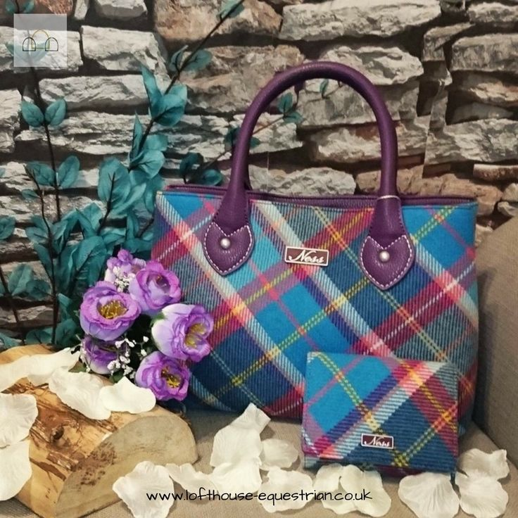 We are now official stockists of #ness #handbags! Take a look on our website at our stunning collection of these beautiful #tweed bags! | Lofthouse Equestrian