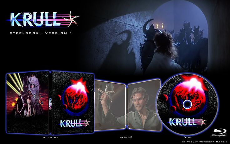 KRULL - V1 - STEELBOOK -  Fan art