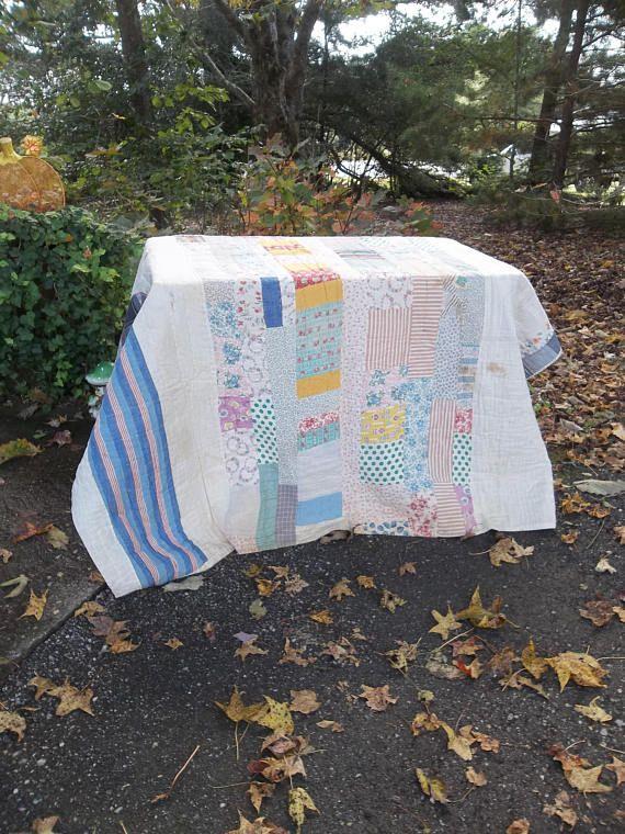 Primitive Antique Quilt Primitive Bedding Quilted Bedspread