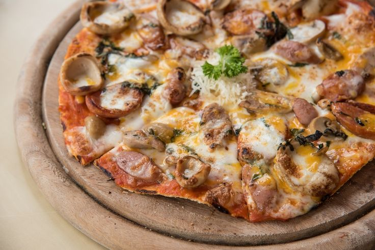 Welcome to my homemade anything spare meat feast pizza recipe. This is perfect for the day after a barbeque or the day after a roast dinner when you have lots of spare meat that you need to use up.