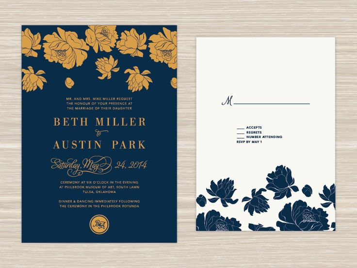 Wedding Invitation by Cassie (Stegman) Ball