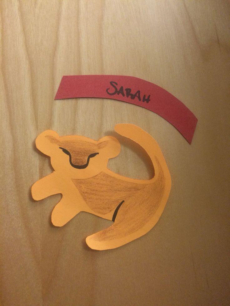 Simba door decs to go with my Lion King bulletin board. & 223 best Door Decs images on Pinterest | Ra door decs Door decks ... Pezcame.Com