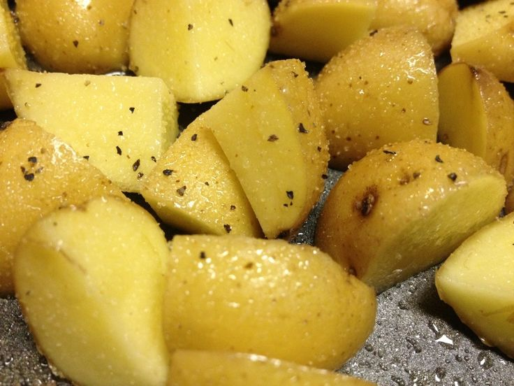 Best 25 roasted yellow potatoes ideas on pinterest yellow roasted baby yellow potatoes with olive oil and spices ccuart Images