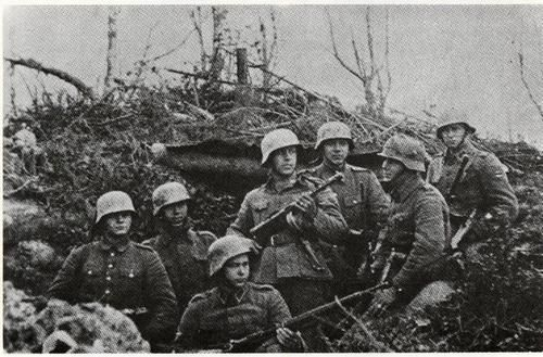 Estonian Volunteers in the Finnish Army.