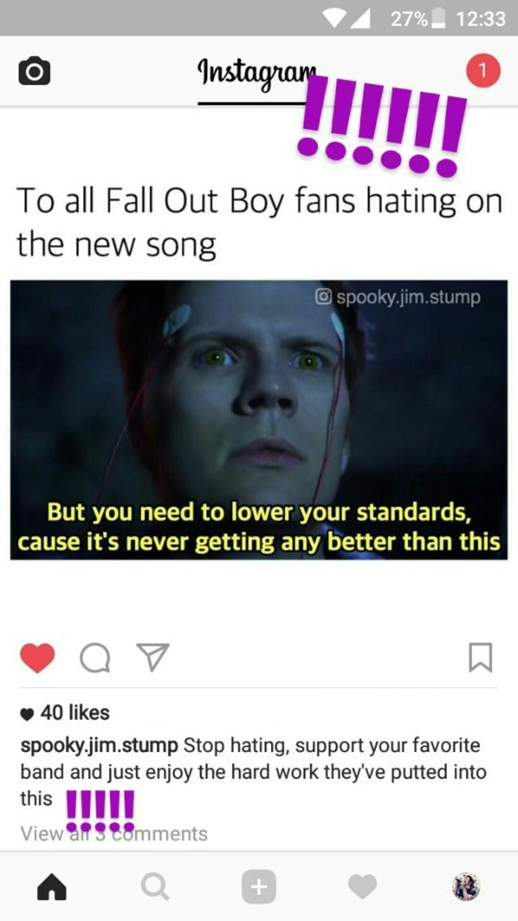 """So here is my OPINION on young and menace, and people not liking it. Yes, it is definitely different then what FOB normally does, does that make FOB or the song any less great? NOPE! If Fall Out Boy wants to change it up, that fine and their fans should support them every step of the way! And yeah, it's fine to not like the song, but don't go """"I don't like FOB anymore because they have changed."""""""