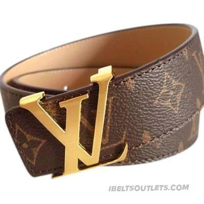 Stylish Louis Vuitton Mens White Belt-001