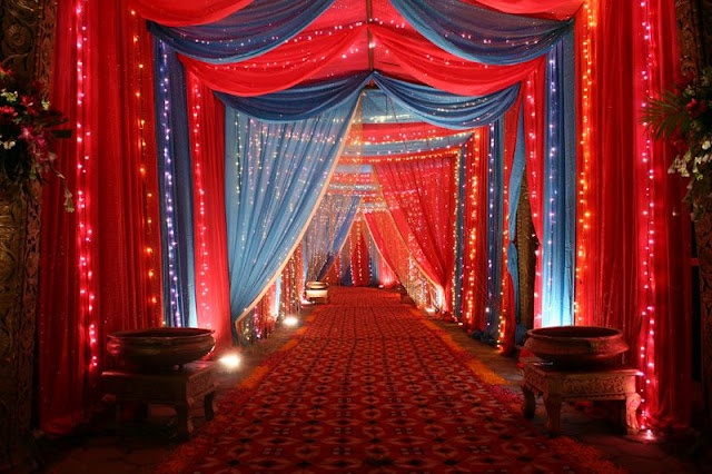 Typical Indian Wedding Decoration