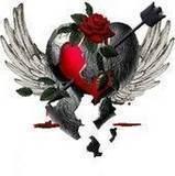 shattered heart - beautiful symbolism