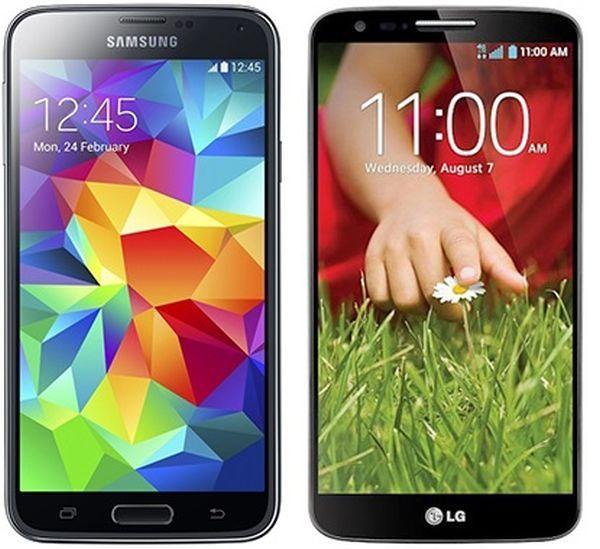LG G2 vs Samsung Galaxy S5: Spec Comparison [VIDEO]
