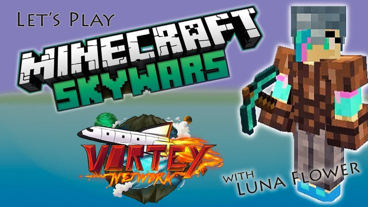 Let's Play Minecraft Minigames, Skywars on Vortex