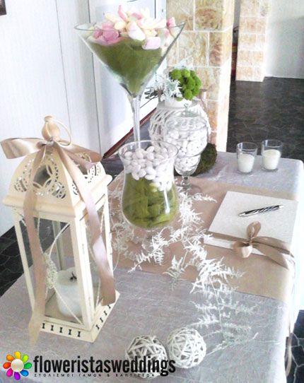 Floweristas Weddings | Τραπέζι Ευχών Γάμου