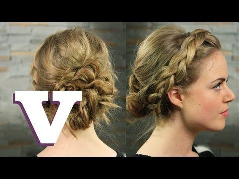 How To Do Ancient Greek Hair: Hair With Hollie - S02E5/8 - YouTube