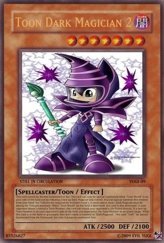 Toon Dark Magician 2 - Yu-Gi-Oh Card Maker Wiki - Cards, decks ...