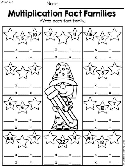 Worksheet Math Wizard Worksheets 1000 images about trabajos de escuela on pinterest kindergarten math wizards multiplication mixed facts review