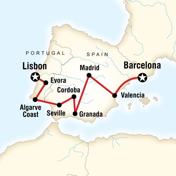 Best of Spain & Portugal in Europe - Lonely Planet Ideas for a dream vacation!!