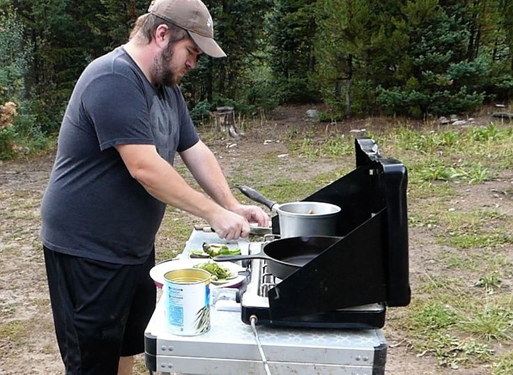 Camping Cooking Gear And Ideas To Set Up Your Very Own Efficient Camping Kitchen Station Including E With Images Outdoor Camping Kitchen Camping Cooking Gear Camp Kitchen