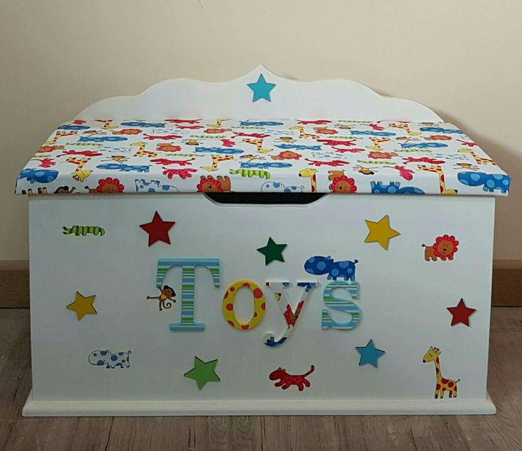 Best 20 personalised toy box ideas on pinterest toy for Baby and kids first furniture