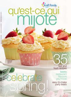Magazine qu'est-ce qui mijote - Kraft Recipes- Kraft Canada