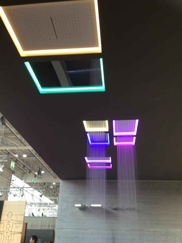 Raining shower - LED lighting