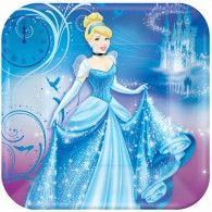 Cinderella Square Dinner Plates Pkt8 $10.95 A553840