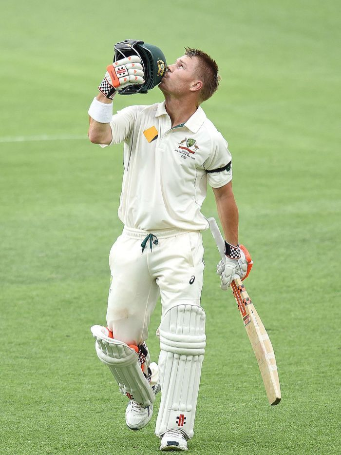 9: David Warner - Australia. Rating 800.