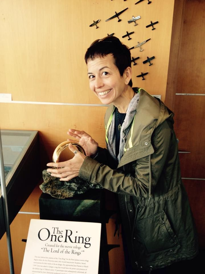 Cecila and the One Ring - welcome to Nelson, New Zealand