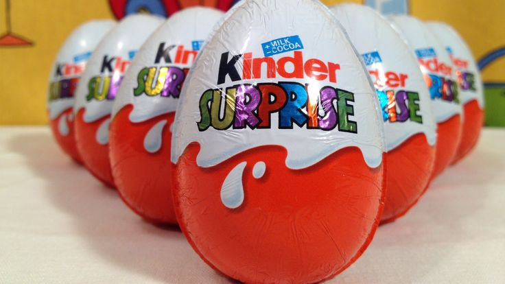 ♥ Super 10 Kinder Surprise Eggs with Songs for Kids ♥