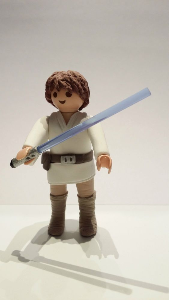 FIGURA CUSTOM Star Wars luke skywalker - PLAYMOBIL CUSTOM