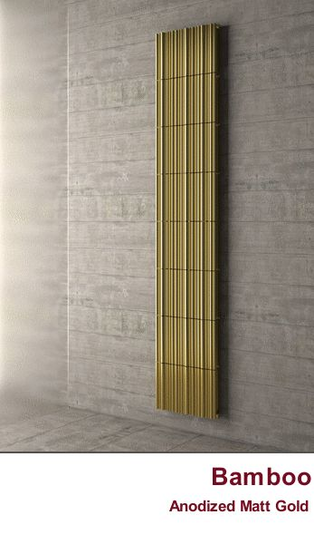 Bamboo - the Radiator inspired from the rainforest.