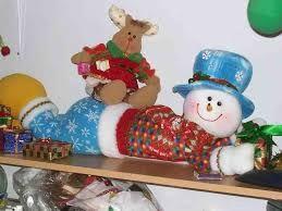Resultado de imagen para pañolenci navidad moldes