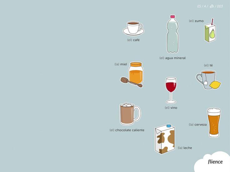 Food-drinks_003_es #ScreenFly #flience #spanish #education #wallpaper #language