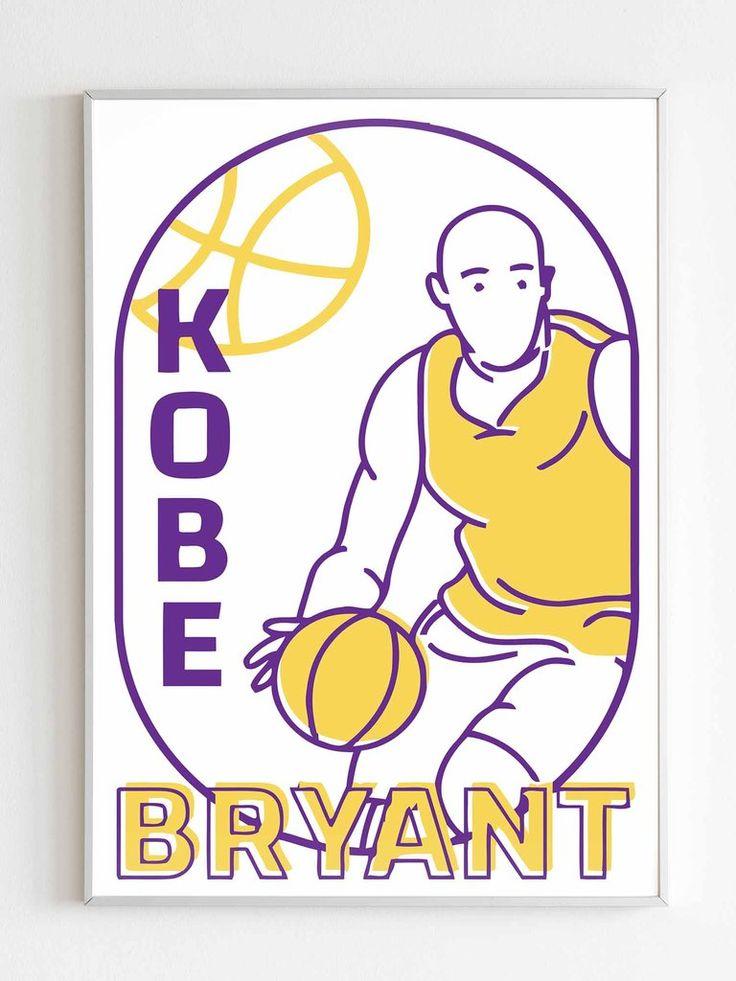 Kobe Bryant Poster in 2020 Kobe bryant poster, Kobe