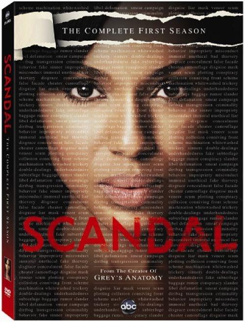 SCANDAL Season 1 DVD Contest