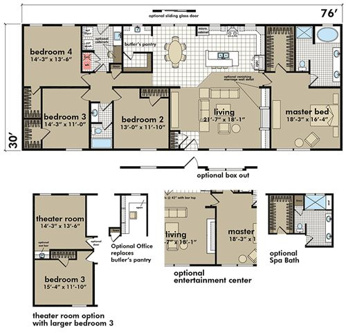 Deer Valley Mobile Home Floor Plans: 10 Best Manufactured Homes Images On Pinterest