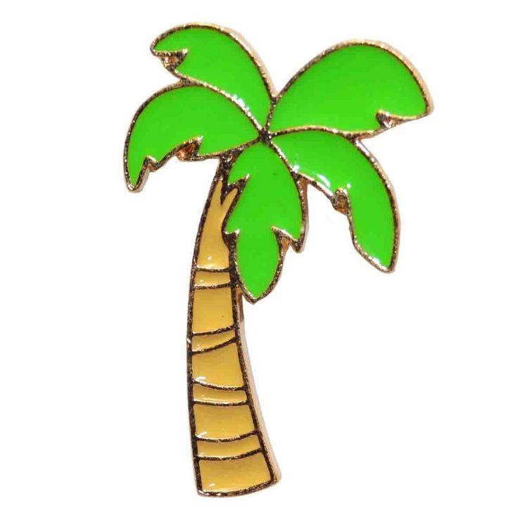 Enamel Pin - Palm Tree