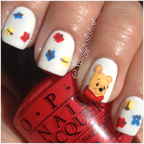 Winnie The Pooh Nails: 12539 Best Images About Finger Nail Art On Pinterest
